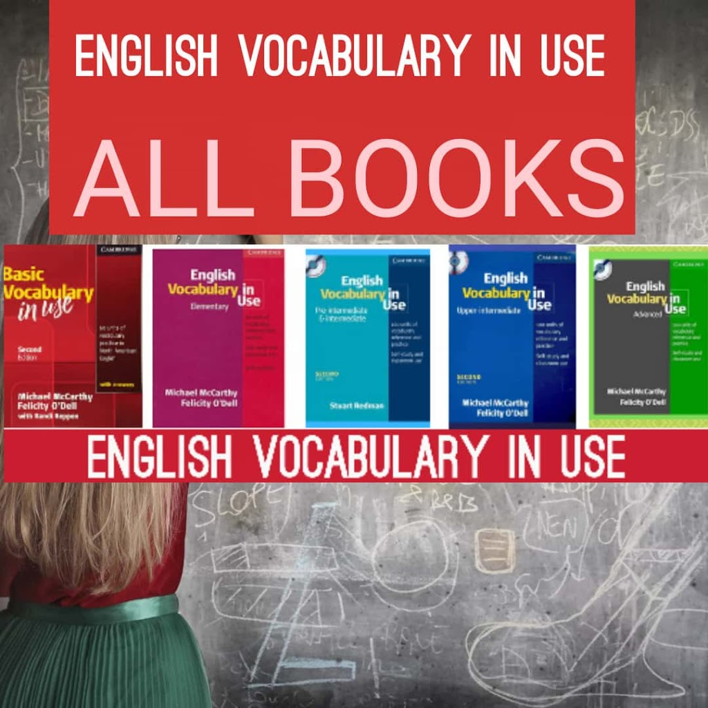 English vocabulary in use all books download